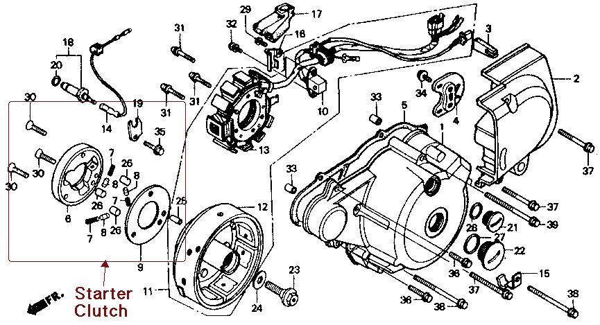 starter clutch removal/replace? | page 2 | honda rebel forum  honda rebel forum