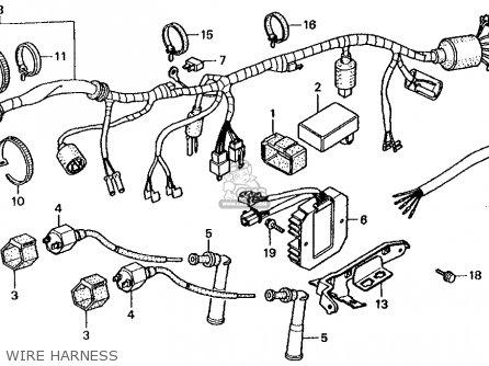 honda rebel 1985-1987 wiring diagram | honda rebel forum  honda rebel forum